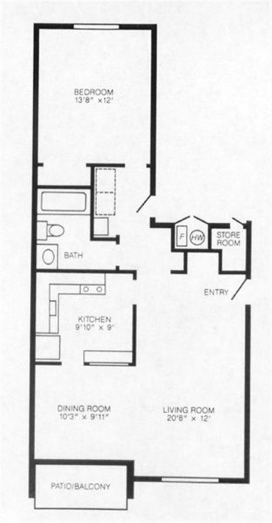 garden apartment for rent university park