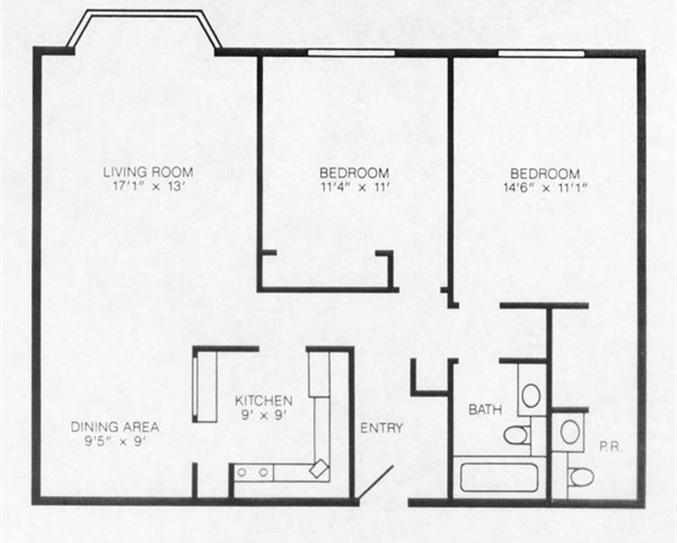 midrise apartment for rent university park